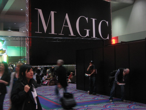is sourcing at magic a good trade show for a start up