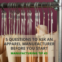 Tip #3: Five Questions to Ask a Sewing Contractor Before You Work With Them