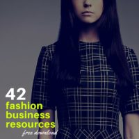 FREE DOWNLOAD: 42 Fashion Business Resources to Every Emerging Designer Needs