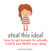 Steal This Idea #2: How to Get People to Go to Your Blog and Actually Read It