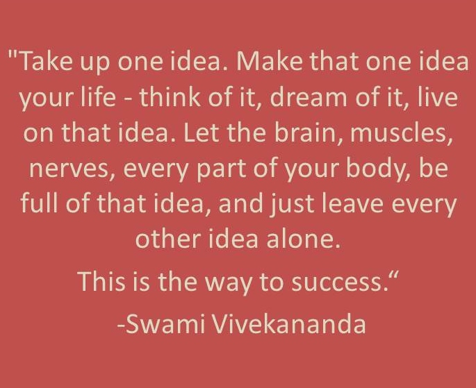 One Idea Quote