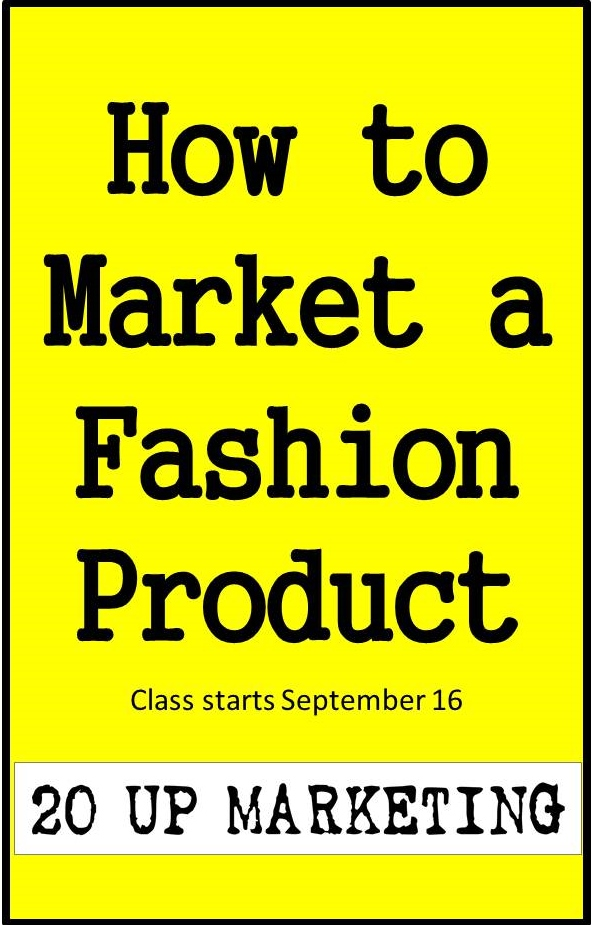 how to market a fashion product online (clothing and accessories)