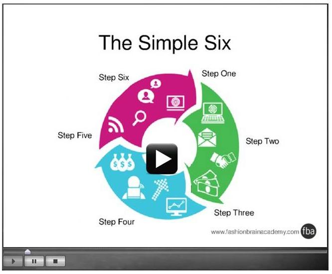 simple six graphic w vid