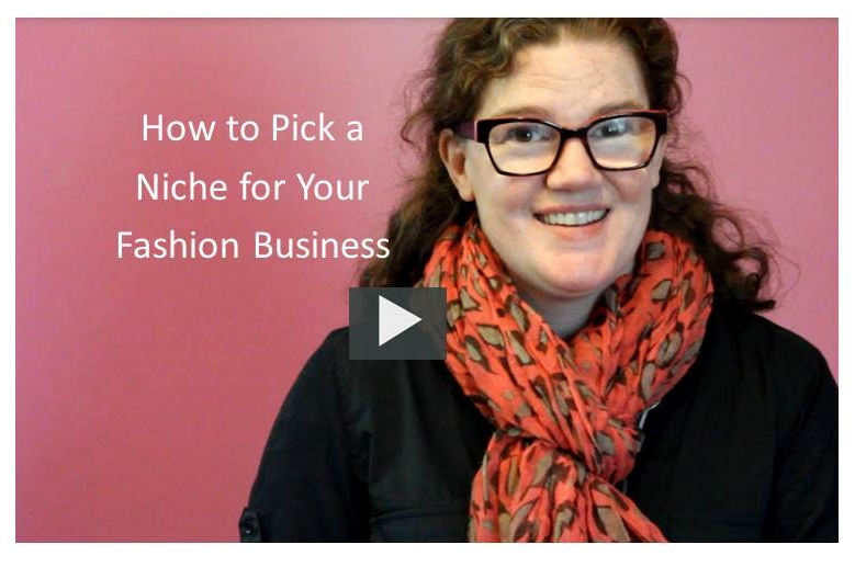 Choose a tight niche for your clothing or accessories line