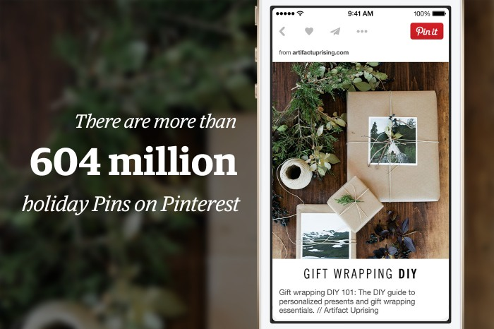 number f holiday pins on Pinterest