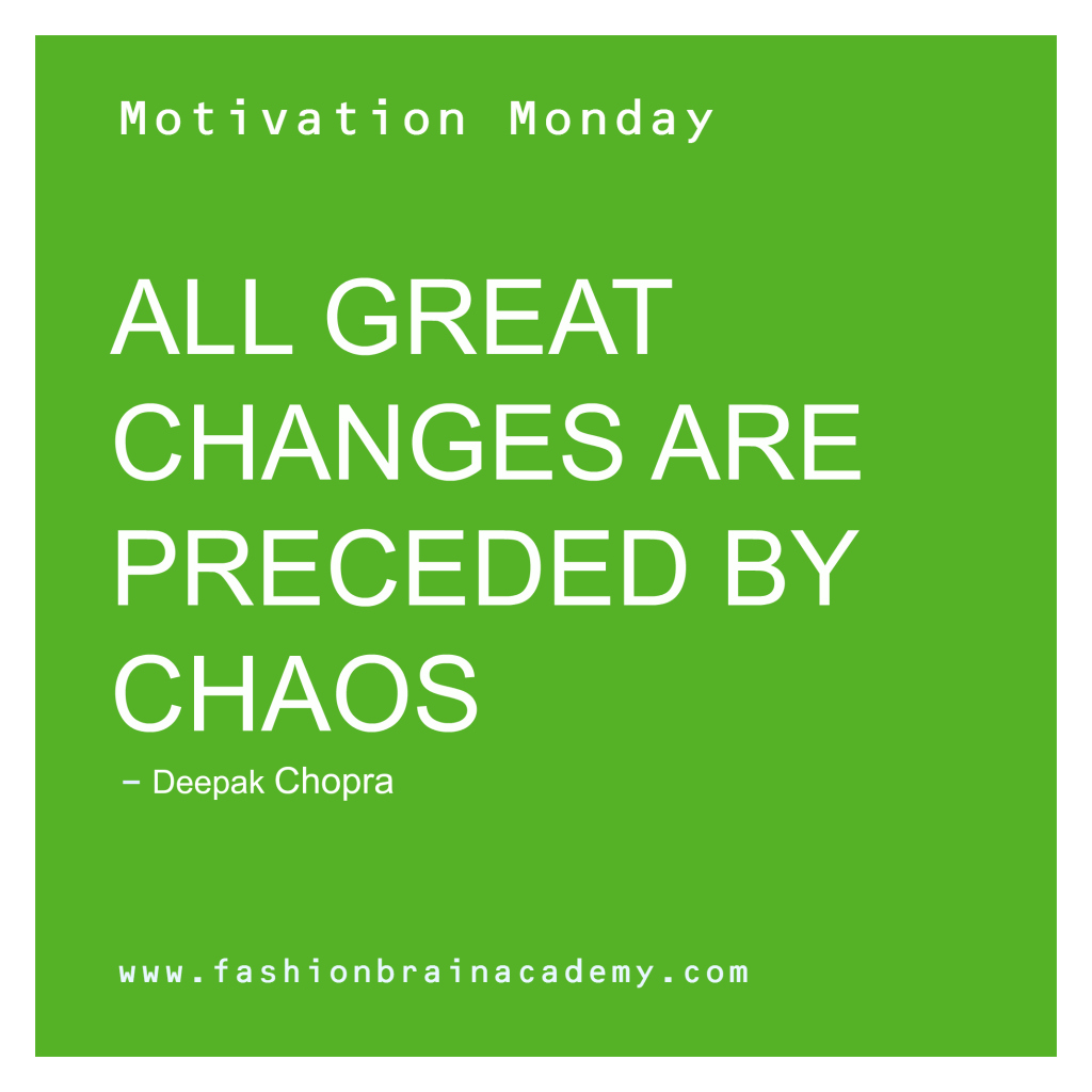 Motivation Monday for Fashion Designers