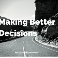 tips for decision making for clothing designers