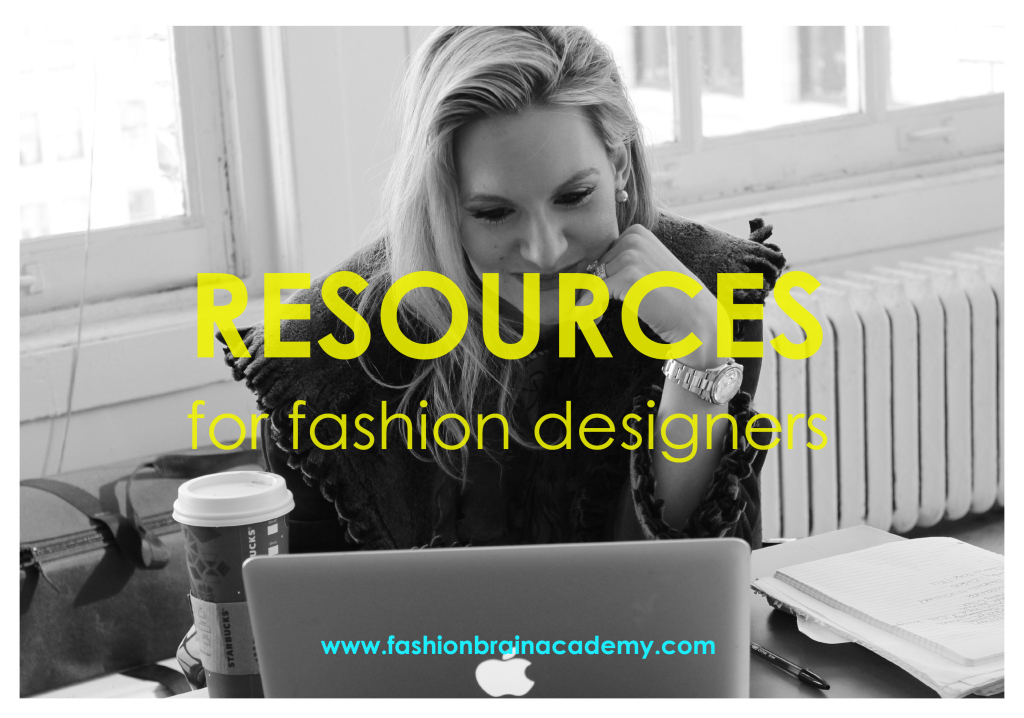 Resources for fashion designers