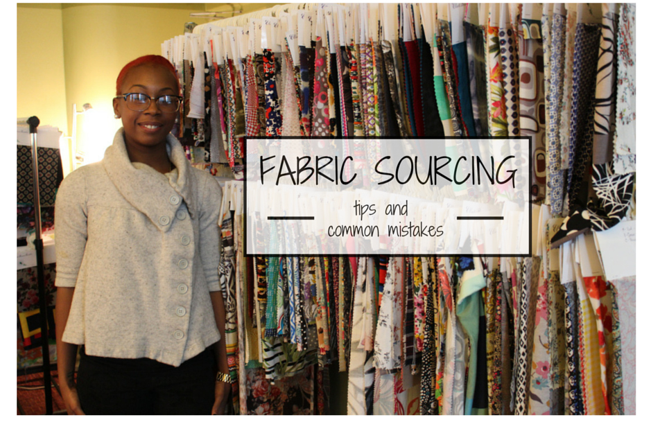 finding wolesale fabrics for your clothing line