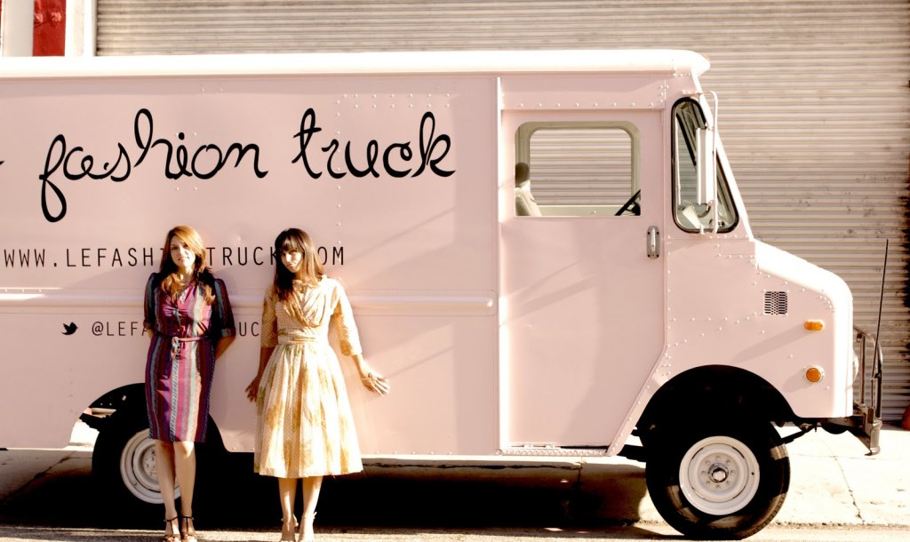 Le Fashion Truck is a mobile boutique - a store on wheels.
