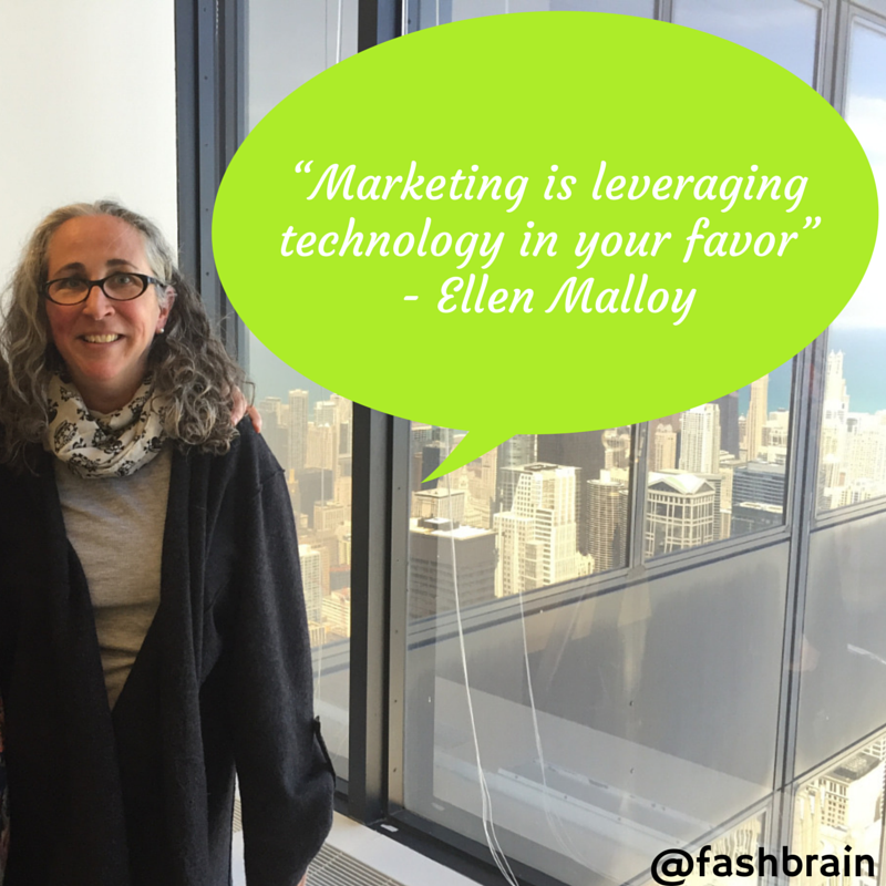 """""""Marketing is leveraging  technology in"""