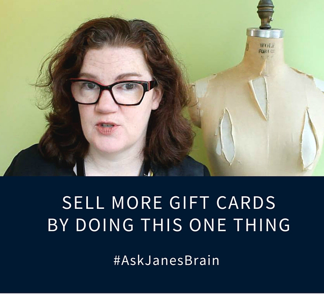 Sell More Gift Cards