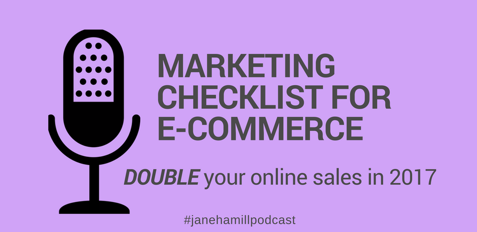 Marketing checklist for e-commerce