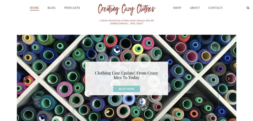 Joanne's Cozy Clothes Blog