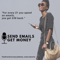 send emails, get money