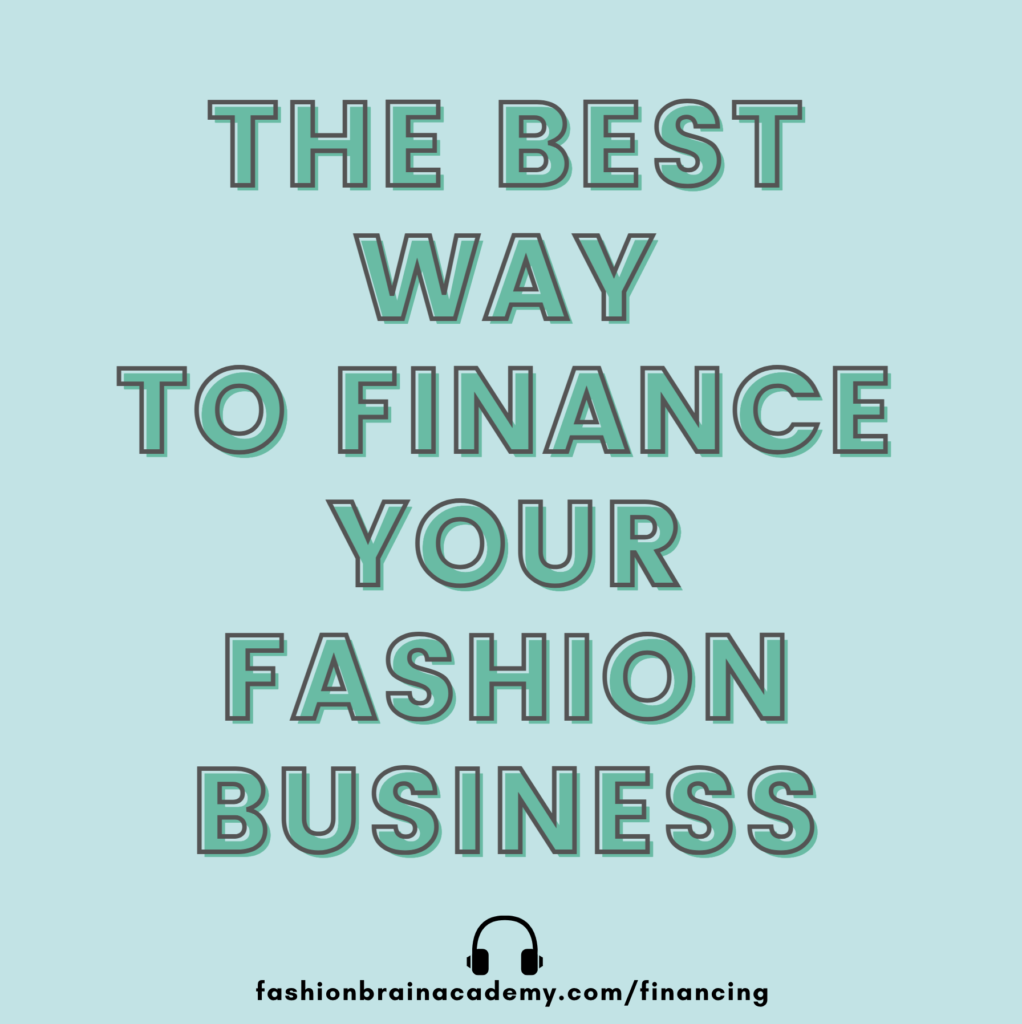 how to find money to launch a clothing line